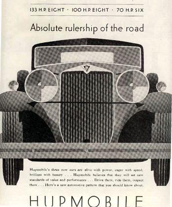 1930 hupmobile adv