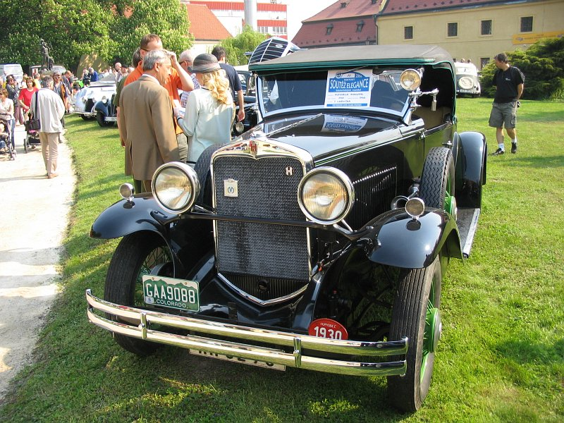 1930 Hupmobile model S Roadster, USA a