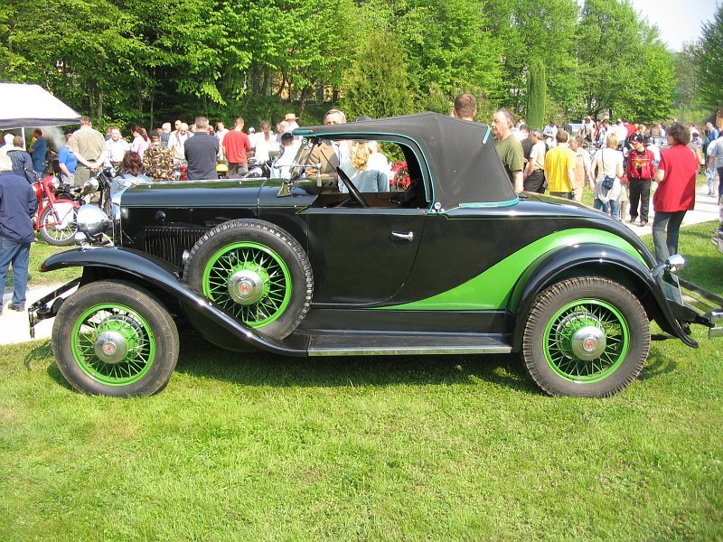 1930 Hupmobile model S Roadster, USA b