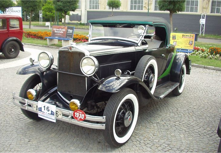 1930 Hupmobile Six Roadster, USA a