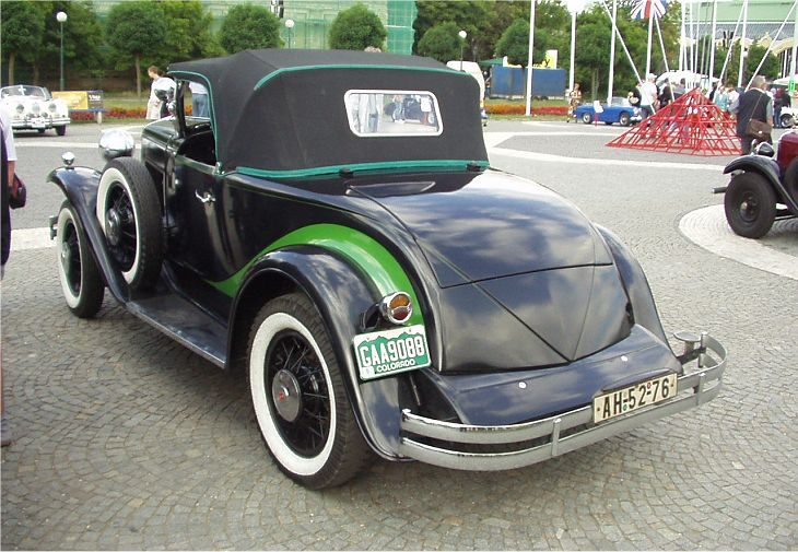 1930 Hupmobile Six Roadster, USA b