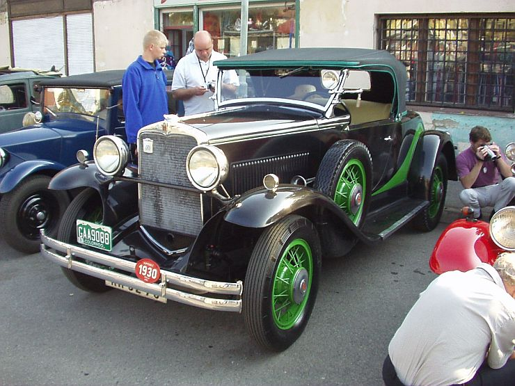 1930 Hupmobile Six Roadster, USA c