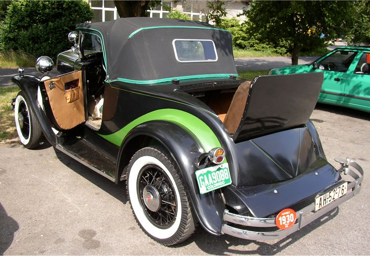 1930 Hupmobile Six Roadster, USA d