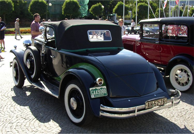 1930 Hupmobile Six Roadster, USA e
