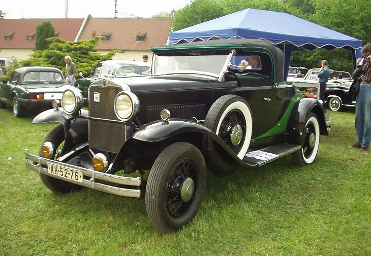1930 Hupmobile Six, USA a