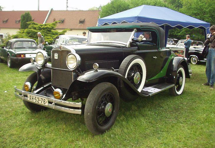 1930 Hupmobile Six, USA a