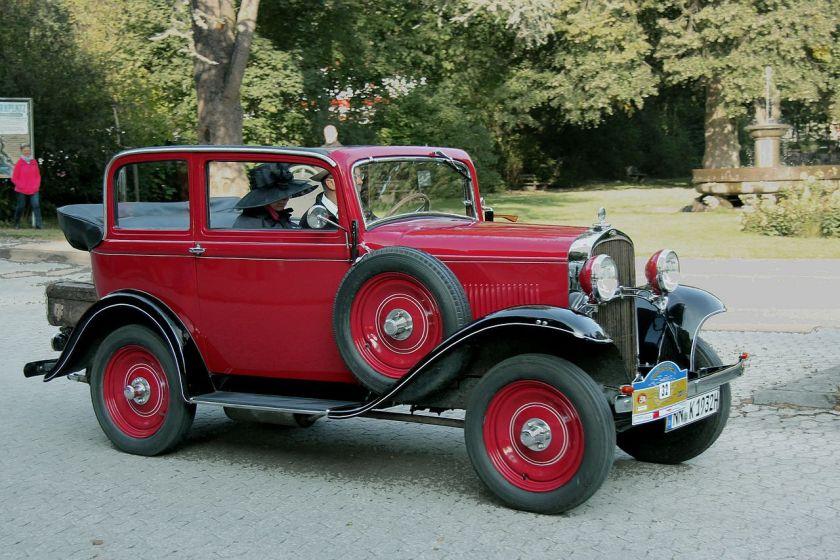 1931-34 Opel 1,2 Liter