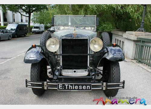 1931 Adler Favorit Tourer a