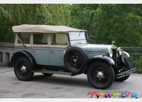 1931 Adler Favorit Tourer b