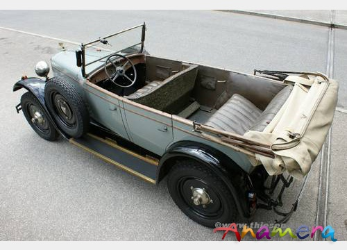 1931 Adler Favorit Tourer c