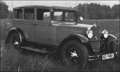 1931 Adler standard 6