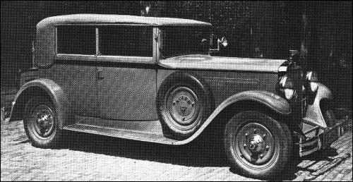 1931 Adler standard 8 cabrio karmann