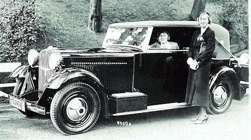 1931 Adler Standard 8 Karmann