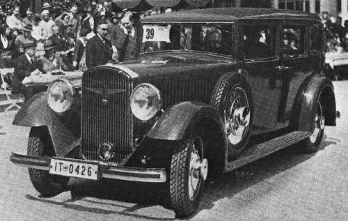 1931 Adler standard 8 limousine