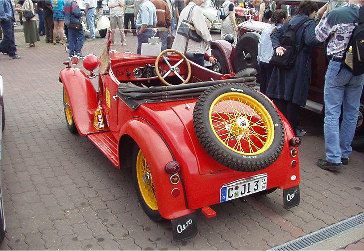1931 Aero 500 - 10 HP, Československo (1929-1932) d