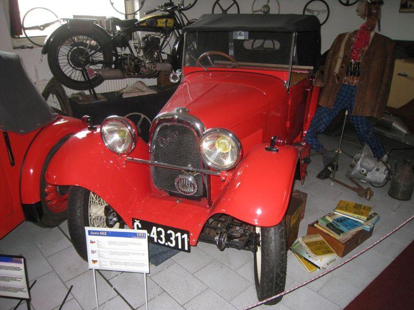 1931 Aero 662, Československo a