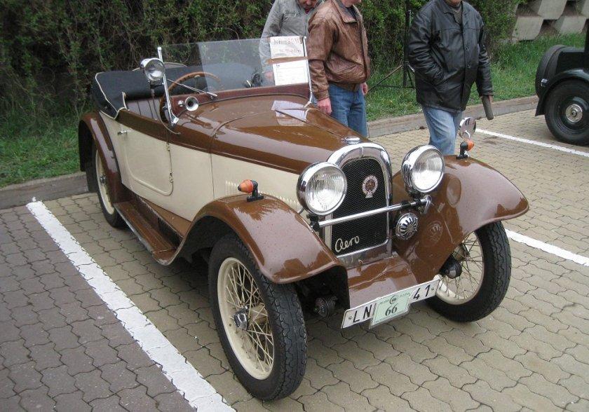 1931 Aero 662, Československo bw a
