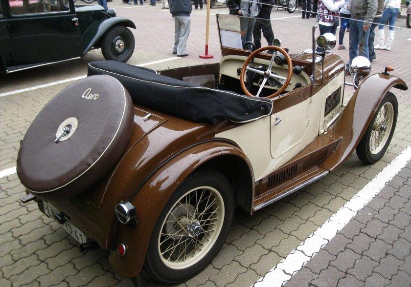 1931 Aero 662, Československo bw c