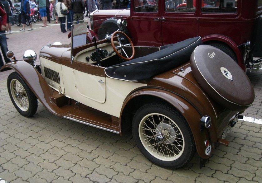 1931 Aero 662, Československo bw d