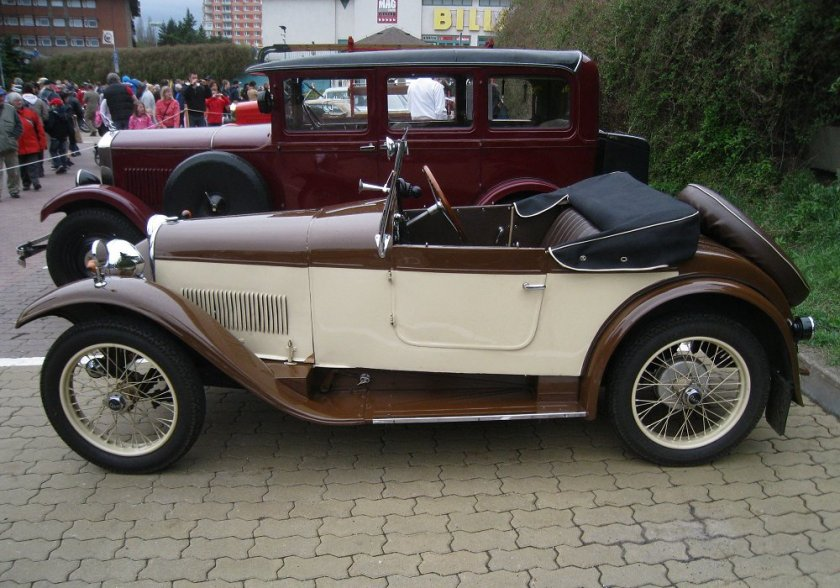 1931 Aero 662, Československo bw f