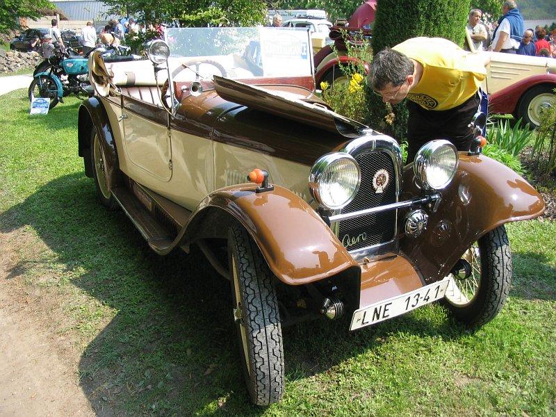 1931 Aero 662, Československo bw h
