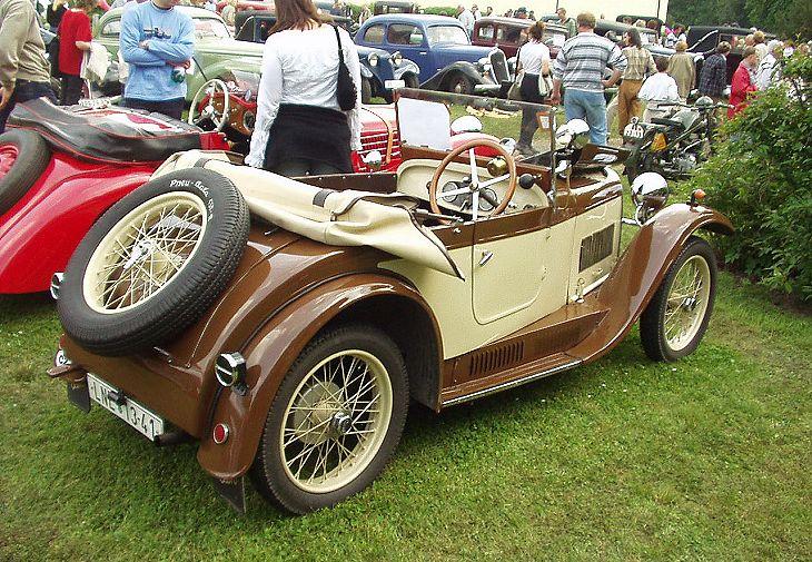 1931 Aero 662, Československo bw k