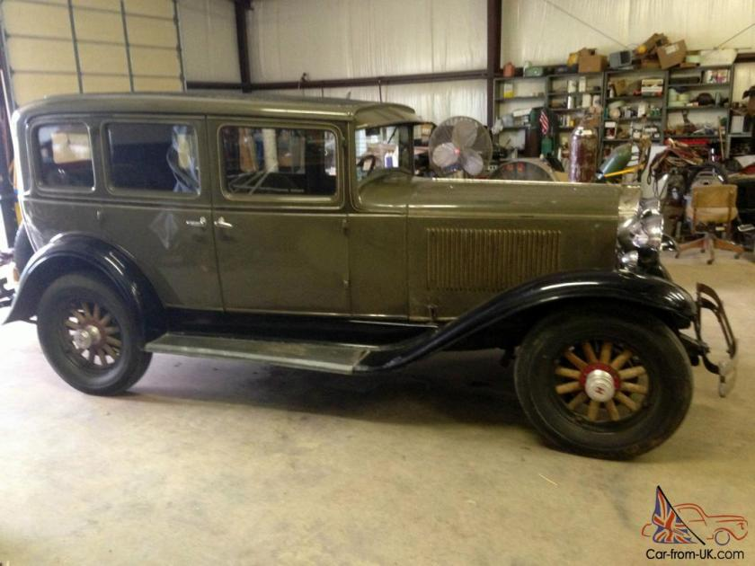 1931 Hupmobile Century Eight L Model Sedan