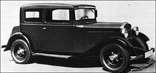 1932 Adler primus limousine