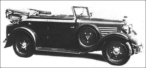 1932 Adler standard 6 cabri by Wendler
