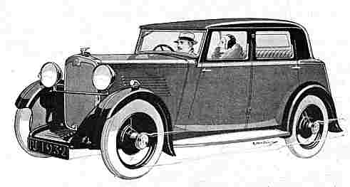 1932 crossley 10hp saloon