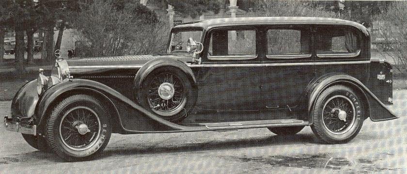 1932 Аustro-Daimler ADR8 Alpine 18-100PS