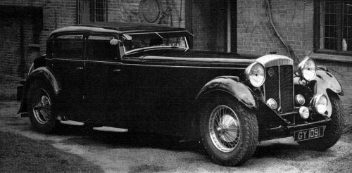 1932 Daimler double 6 40-50 gurney-nutting sports-saloon