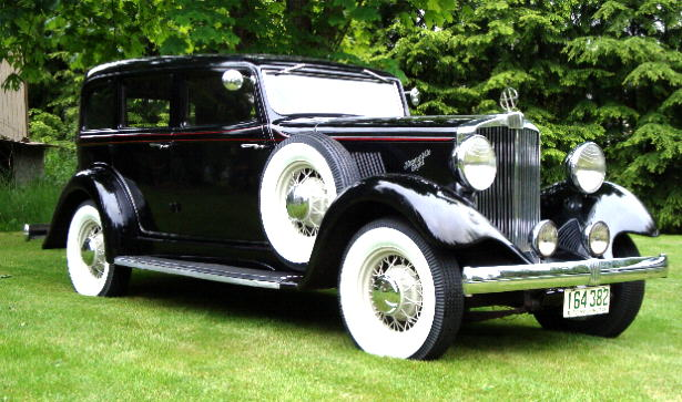 1932 Hupmobile F 222 Eight Cylinder Four-Door Sedan