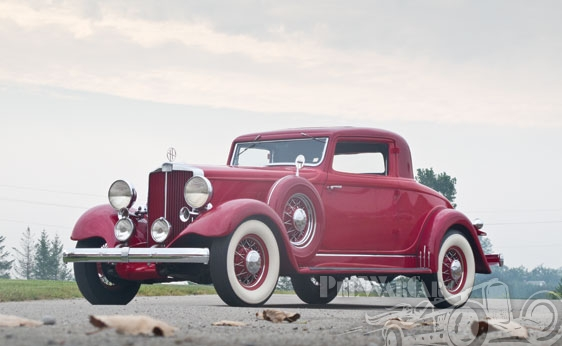 1932 Hupmobile Series-I 226 Rumbleseat Coupe