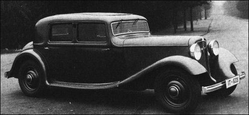 1933 Adler favorit