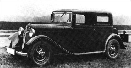1933 Adler primus