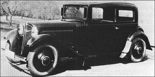 1933 Adler trumpf