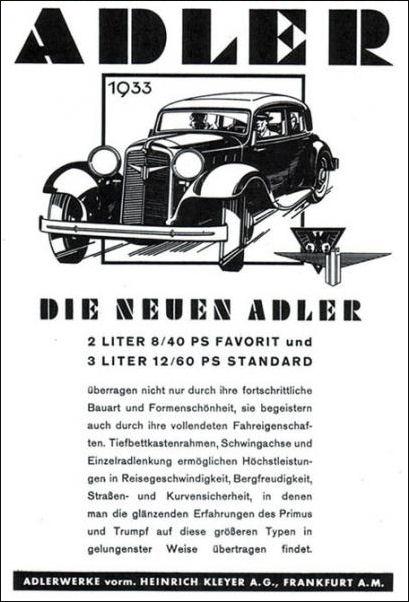 1933 Adler