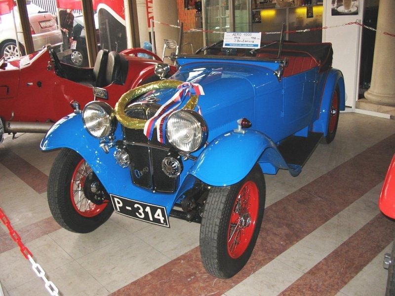 1933 Aero 1000, Československo (1932-1934) 1