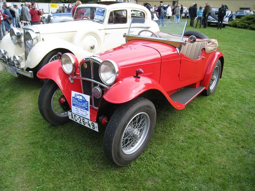 1933 Aero 1000, Československo (1932-1934) a