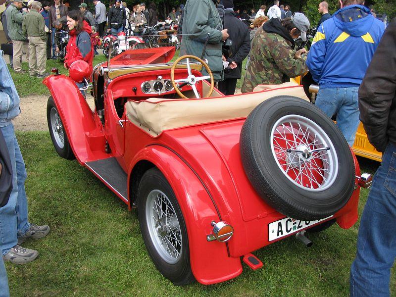 1933 Aero 1000, Československo (1932-1934) g