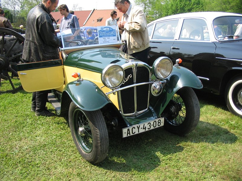 1933 Aero 1000, Československo 1933 (1932-1934) a