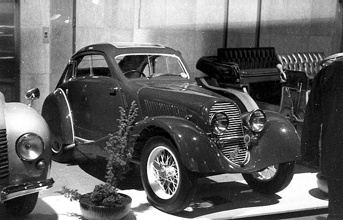 1933 Aero 1000 Special Coupé, Československo d
