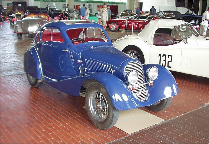 1933 Aero 1000 Special Coupé, Československo