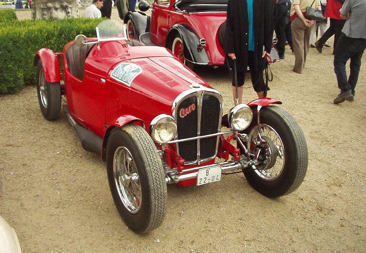 1933 Aero 1000 Speciál, Československo h