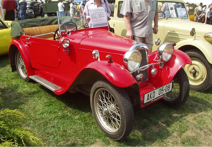 1933 Aero 662 - 18 HP, Československo 1933 (1932-1934) c