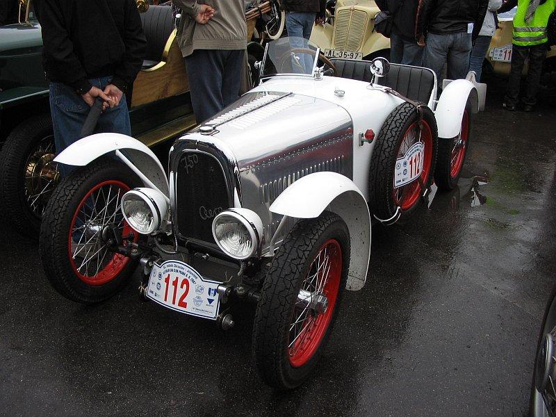 1933 Aero 750 Sport, Československo a