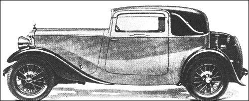 1933 Daimler 15 coupe