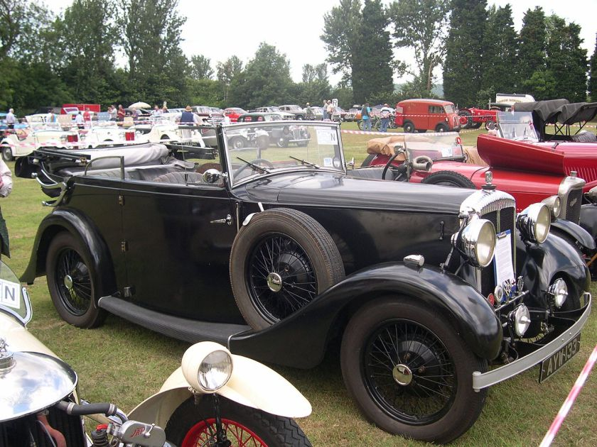 1933 Daimler Light 15 A7OC