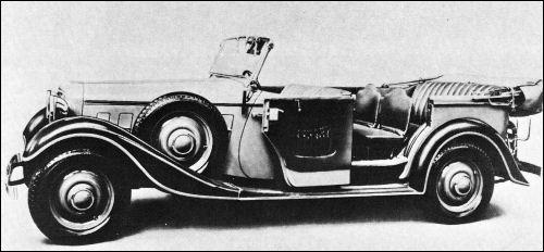 1934 Adler 8zyl tourer